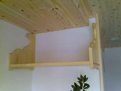 手作り木製神棚